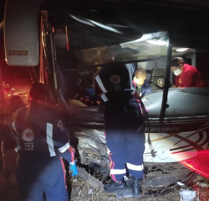 Comerciante morre em acidente na BR - 020