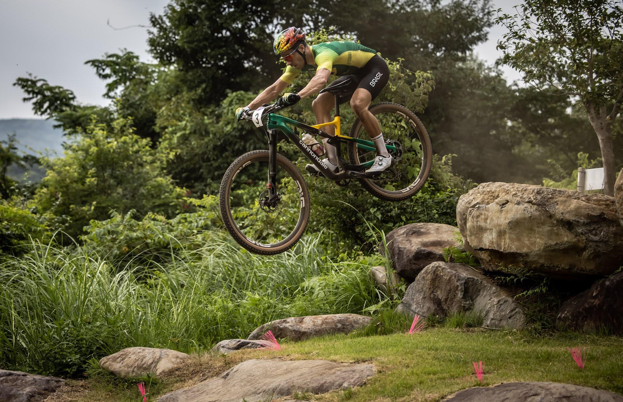 Ciclistas brasileiros no Mundial de mountain bike