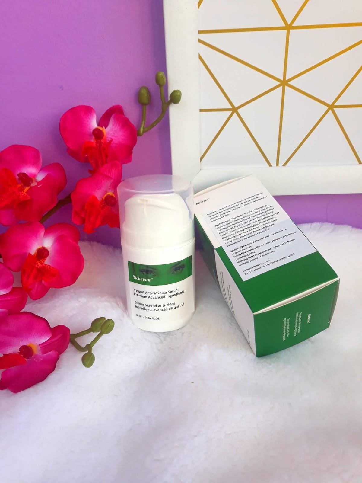 RICHEVON Natural Anti-Wrinkle Serum krem przeciwzmarszczkowy