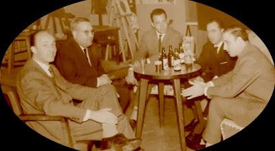 Jugadores del Club d'Escacs Lleida en 1962