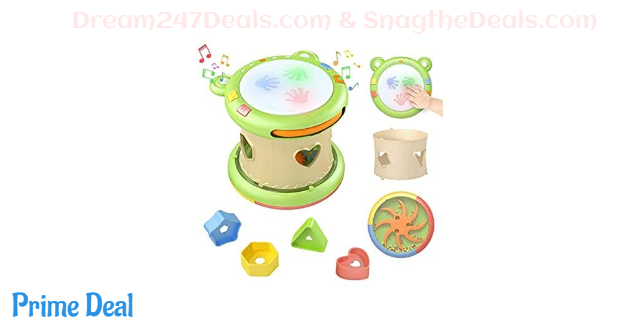 65% OFF 3-in-1 Baby Musical Activity Cube
