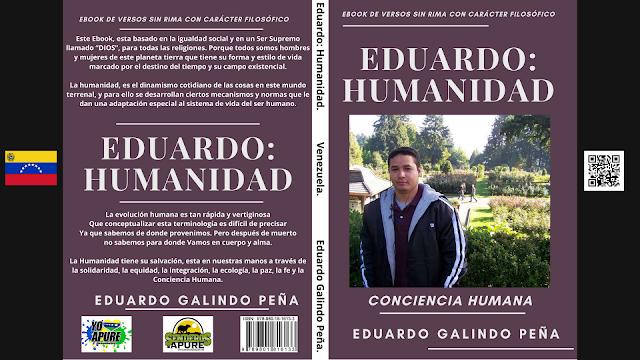 LIBRO DIGITAL: 69 Versos libres sin rimas con carácter filosófico mediante Ebook; Eduardo: Humanidad.