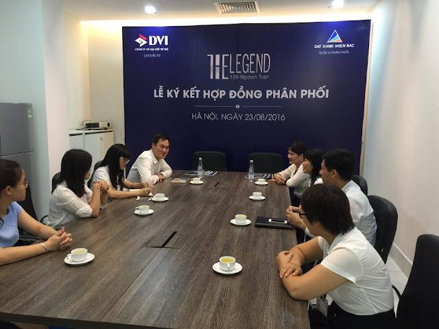 Đại diện hai bên đơn vị phân phối và Chủ đầu tư Đại Việt