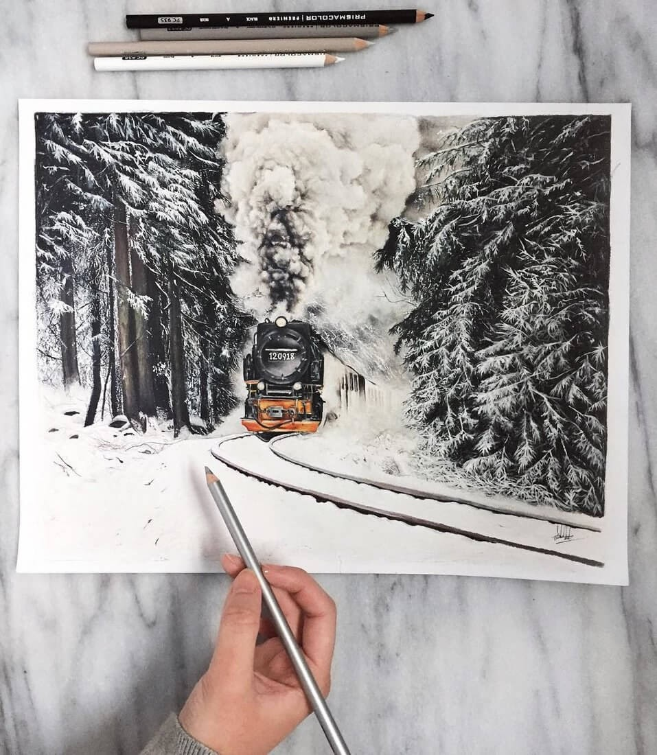 13-Steam-Train-Safanah-Eclectic-Mixture-of-Realistic-Drawings-www-designstack-co
