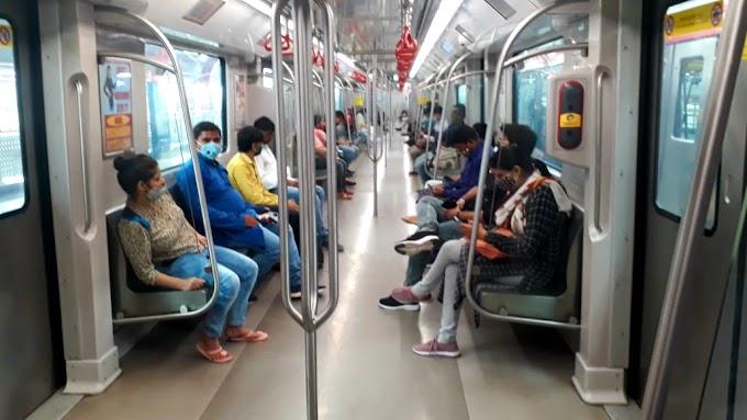 लखनऊ मेट्रो : 17 दिनों में 1.80 लाख यात्रियों ने किया सफ़र