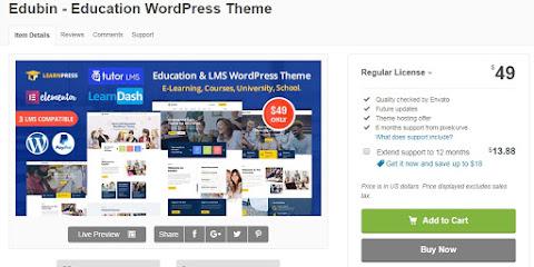 Tema LMS (Learning Management System) Pada Wordpress yang Bagus, seperti Indobot