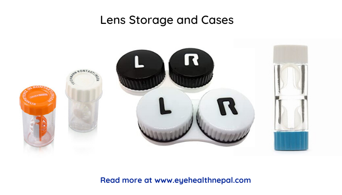 Lens Storage and Cases for RGp and Soft contact lens case