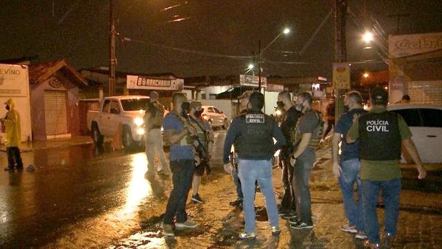 Delegada do GOE fica ferida durante operação, na Paraíba