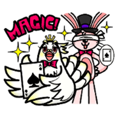 Rabbit The Magician and his Partners 2