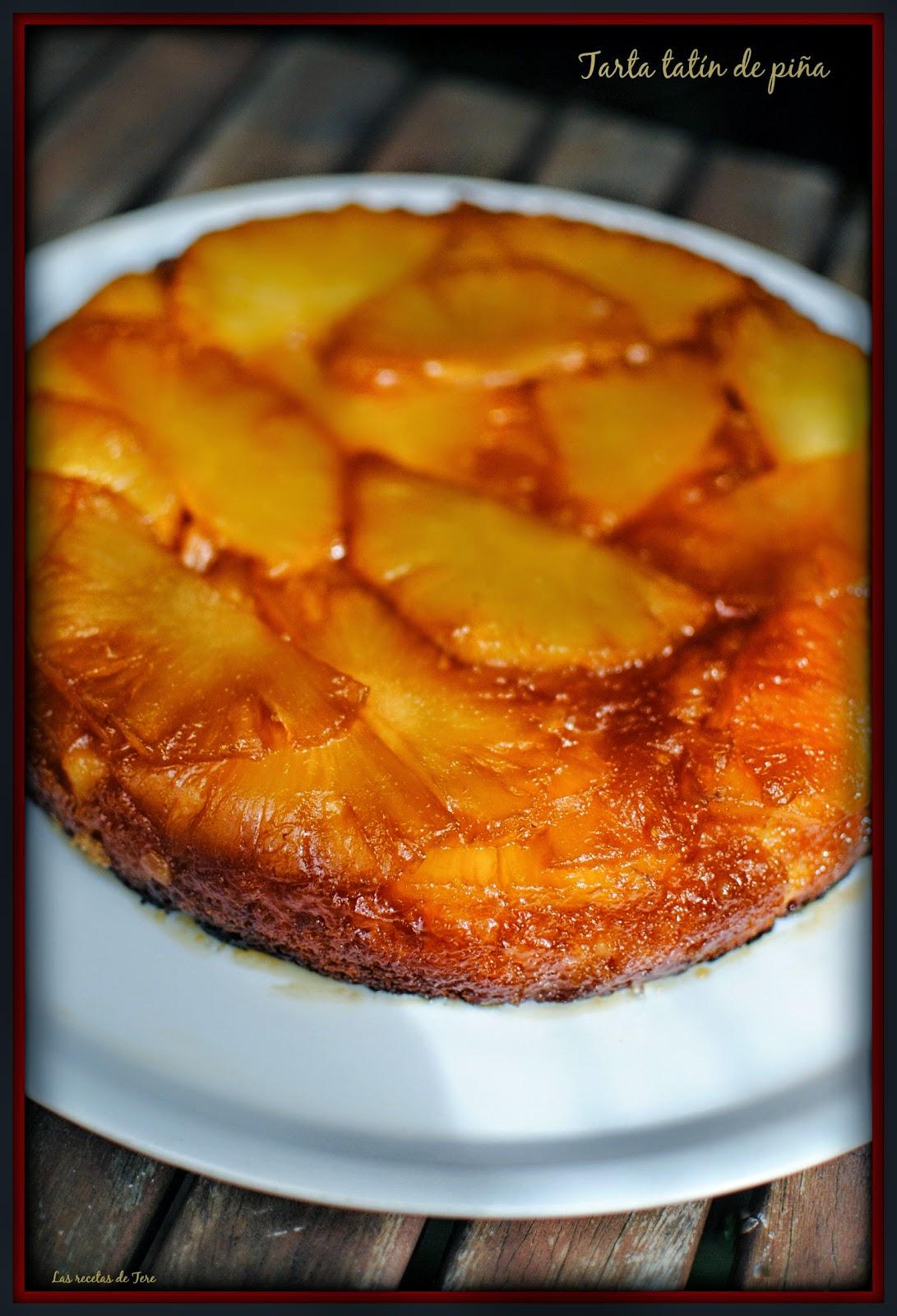 tarta tatín de piña tererecetas 02