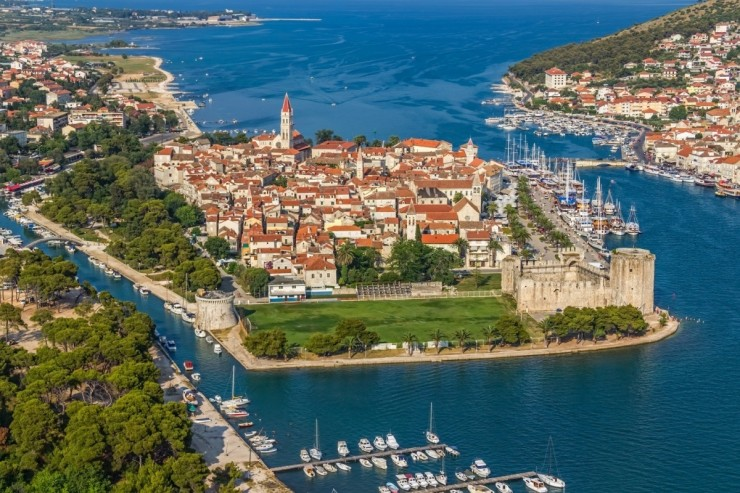 Top 10 Wonderful Destinations in Croatia - The City Island of Trogrir