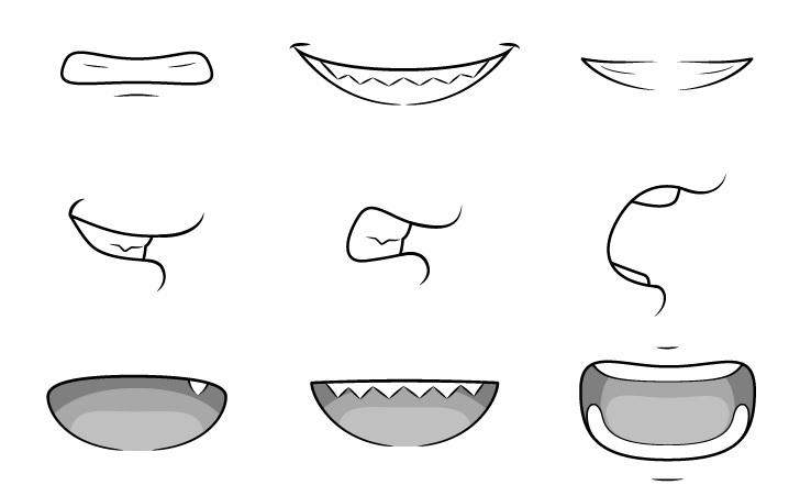 Gambar gigi anime