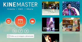 Download kinemaster video editing Android software