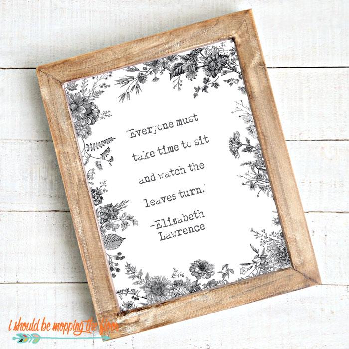 Elizabeth Lawrence Quote