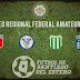 Torneo Regional Amateur: El programa de la fecha 1, segunda fase.