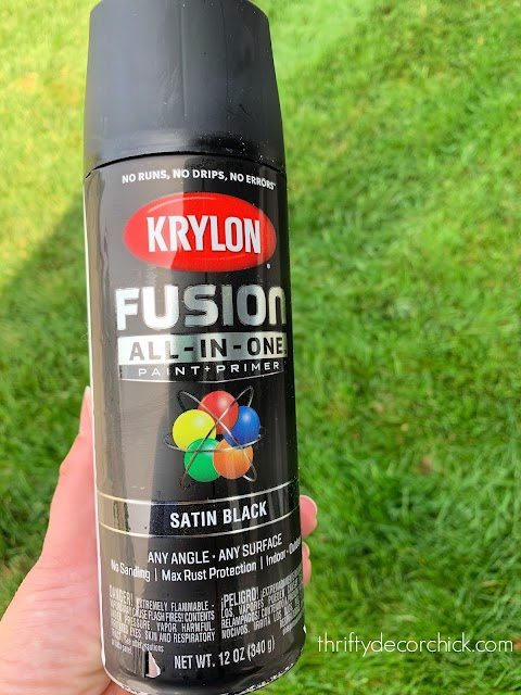 Krylon spray paint no priming
