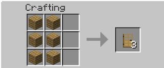 How To Make Oak Door In Minecraft