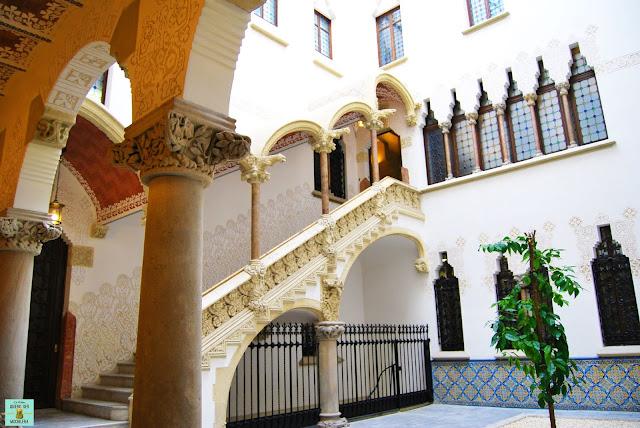 Interior del Palau Macaya, Barcelona