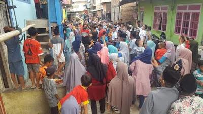 Blusukan Cawako Ahmadi Zubir Di Kec Koto Baru Di Sambut Teriakan AZAS Menang