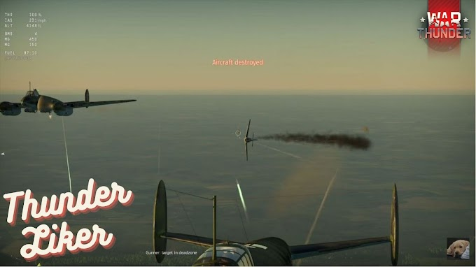 War Thunder Single Mission Chronicle of a Dive Bomber