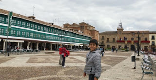 Plaza Mayor de Almagro.