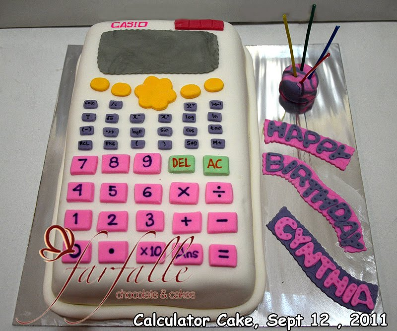 Farfalle Chocolate Amp Cakes Calculator Cake