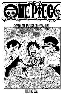 Update! Baca Manga One Piece Chapter 923 Full Sub Indo