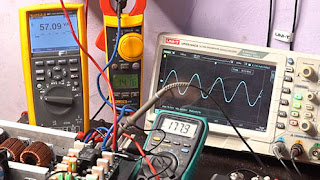 Test Load Power Amplifier AX-BLAME - Class AB
