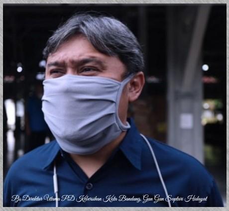 Pjs Dirut PD Kebersihan Kota Bandung, Gun Gun Saptari Hidayat: Sampah Ditengah Pandemi Covid-19