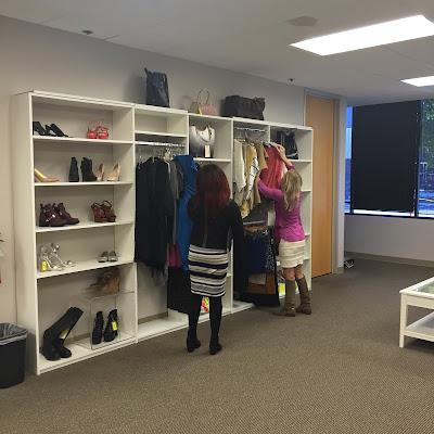 Poshmark HQ Walk-in Closet