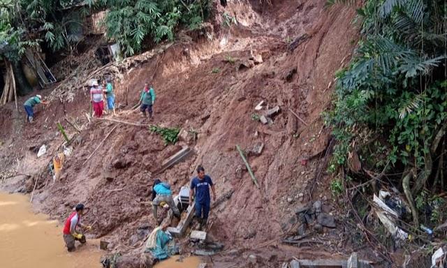 Makam Rusak Akibat TPU Cikutra Longsor, 11 Jenasah Ditemukan Dekat Sungai
