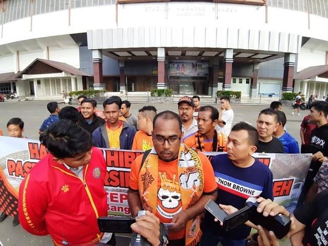 SKULL Desak Pemerintah Aceh Rehab Stadion Harapan Bangsa