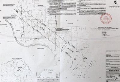 Bản đồ đường Ngô Thỳ Nhậm kéo dài