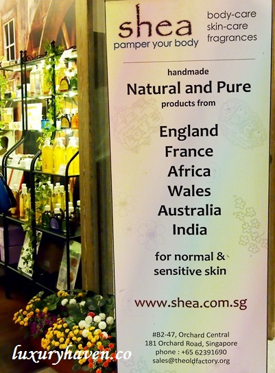 shea old factory orchard central singapore