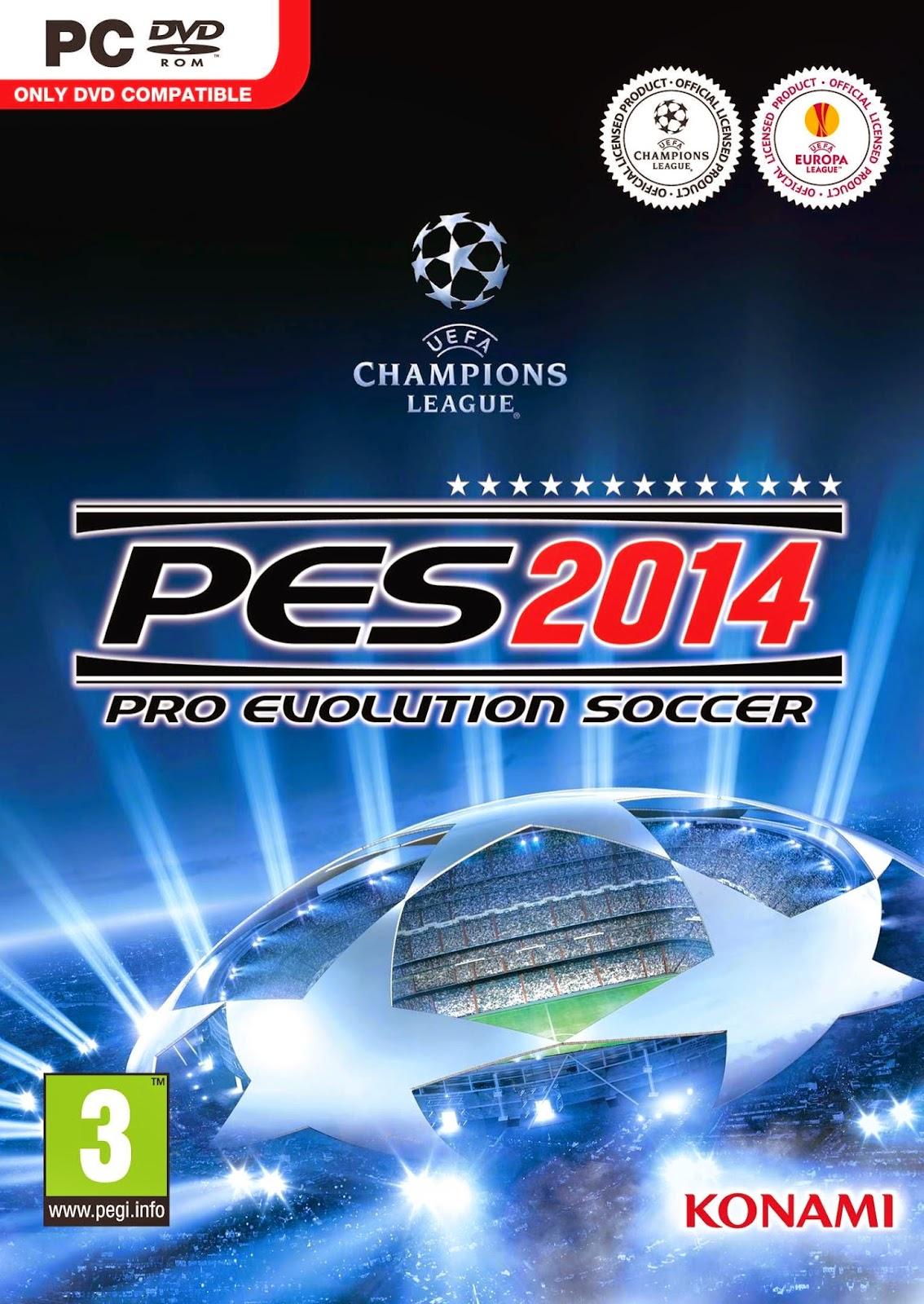 Cover Caratula Pro Evolution Soccer 2014 World Challenge Full PC Descargar