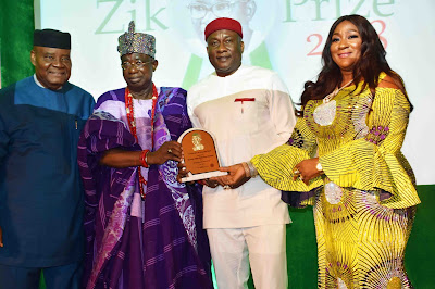 Osoba Applauds Air Peace as Onyema Wins Zik Prize For Leadership