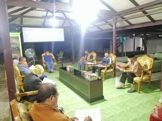 Wali Kota Tarakan Rapat Bersama Dengan Sekda, Asisten, Dinas dan Jajaran Terkait di Rumah Dinas Wali Kota - Tarakan Info