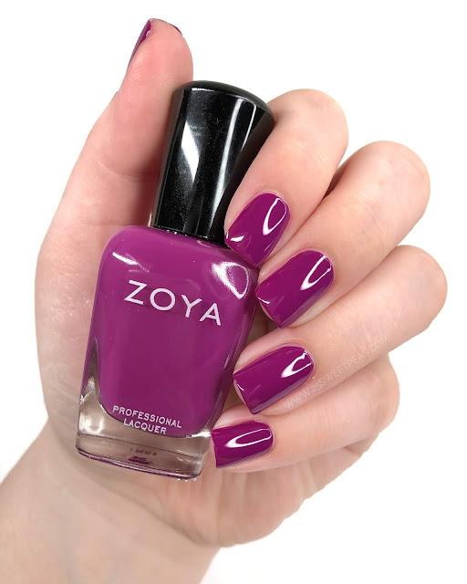 Zoya Rie Swatch 25 Sweetpeas