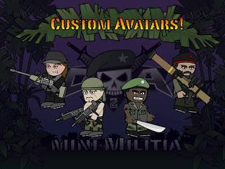 Doodle Army 2 Mini Militia Apk v3.0.87 Mod Invisivble Unlocked Terbaru