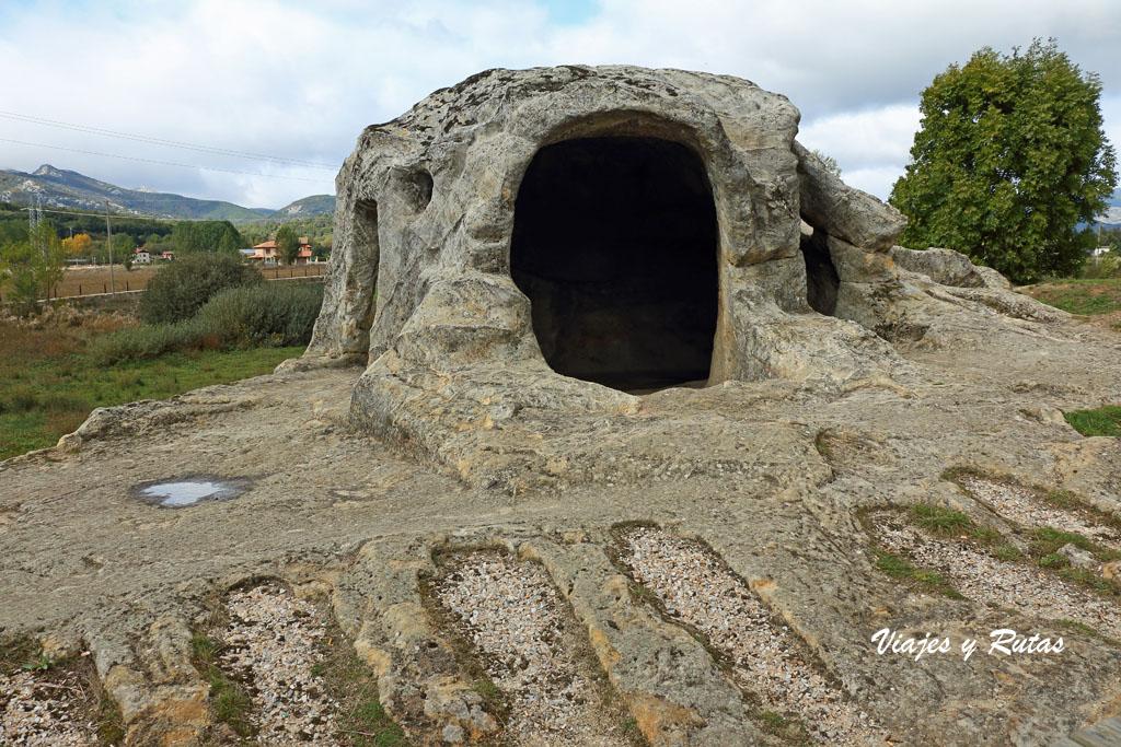 Eremitorio rupestre de San Vicente. Palencia