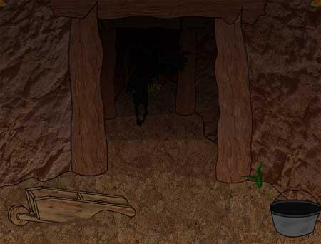 The Gold Rush Escape solución, ayuda, guía, pistas