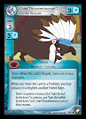 My Little Pony Chief Thunderhooves, On the Warpath Equestrian Odysseys CCG Card