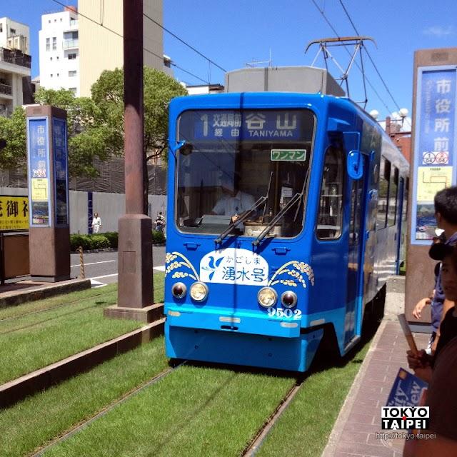 【市電、城巴、City View一日券】搭路面電車和觀光巴士 遊遍鹿兒島市區