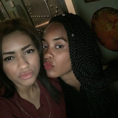 Sexiness Galore: Photos Of Chiki's Beautiful & Sexy Caucasian Sister!