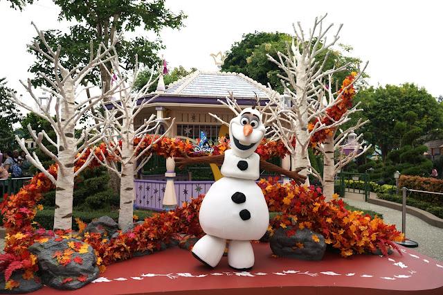 Disney, Disney Parks, A Disney Christmas , A Disney Christmas 2019, HKDL, HK Disneyland, 香港迪士尼樂園, 聖誕節, Frozen 2, Olaf