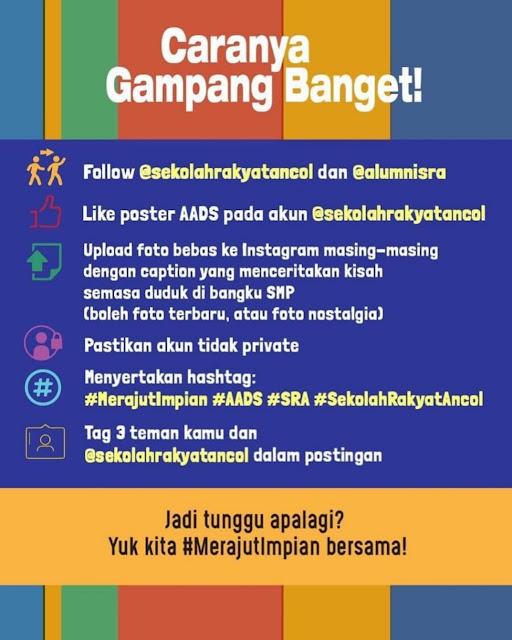 Lomba Cerita Ada Apa Dengan SMP Deadline 29 November 2019
