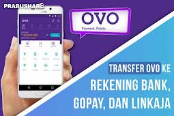 Cara Transfer Saldo OVO ke Rekening Bank, Gopay, dan LinkAja