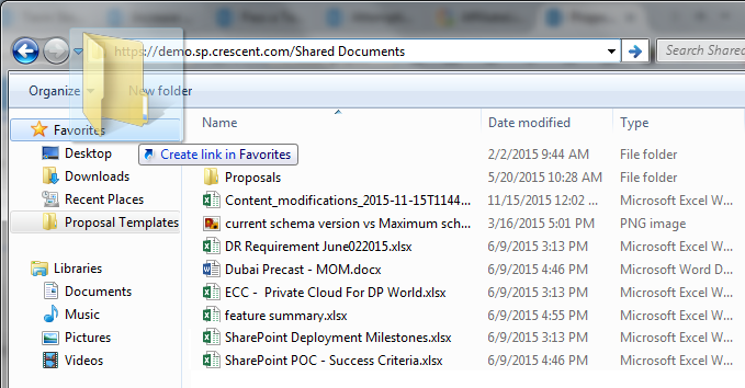 "How to Add your SharePoint Library to ""Favorites"" in Windows?"
