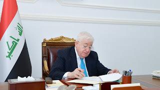 الرئيس العراقي فؤاد معصوم  يصادق على عدد من أحكام الإعدام بحق منفذين جريمة سبايكر