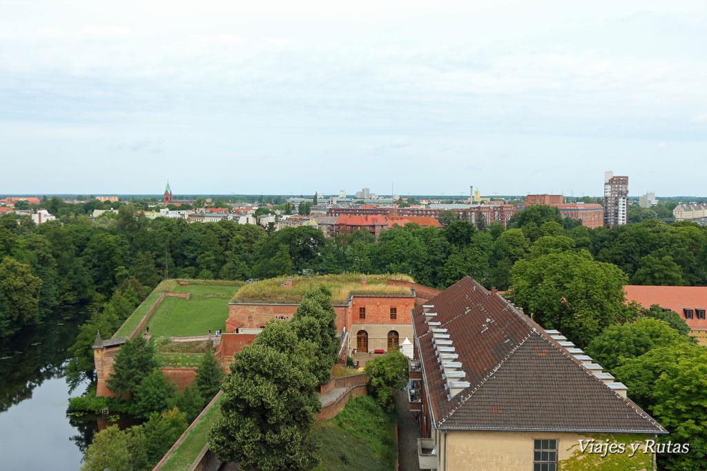 Vistas desde la Juliusturm de la ciudadela de Spandau